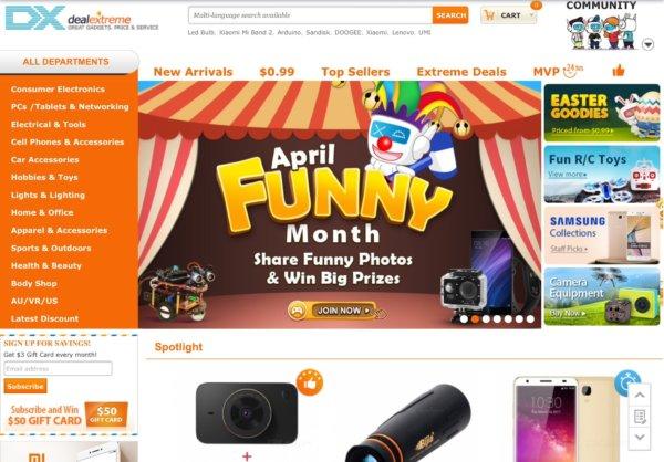 TOP 10 kínai elektronikai webshop európai raktárral  958a8fc991