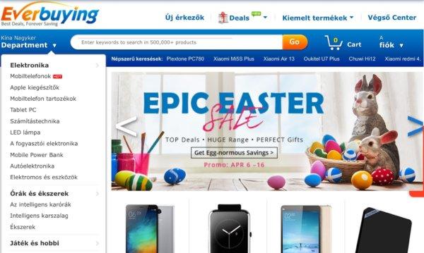c63f0361f9 TOP 10 kínai elektronikai webshop európai raktárral | Cinnamon 4X